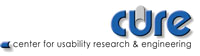 Center for Usability Reseach and Engineering – CURE – Austria
